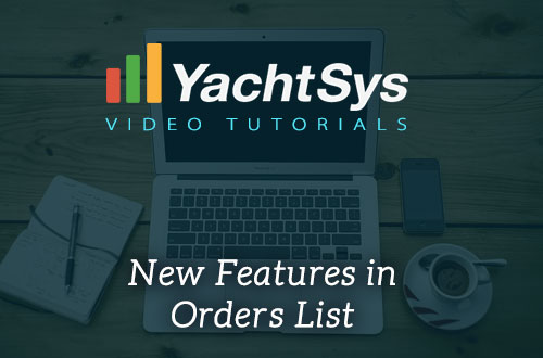 Functions of the Orders List