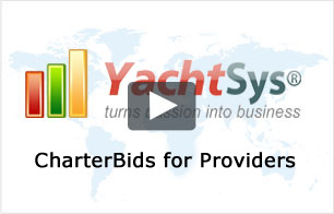 YachtSys® CharterBids for Providers
