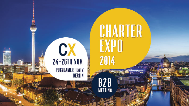 CharterExpo 2014 in Berlin – Providers Meet Agents