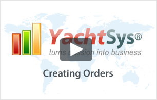 How to Create an Order using YachtFinder