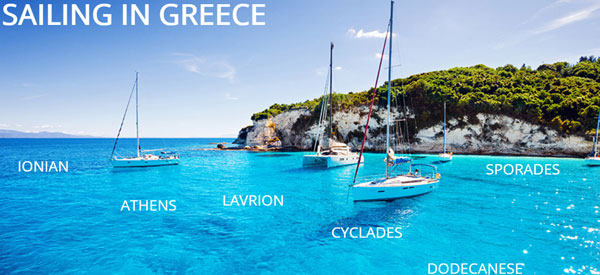 Best Drone Videos from 7 Favorite Greek Yacht Charter Ports